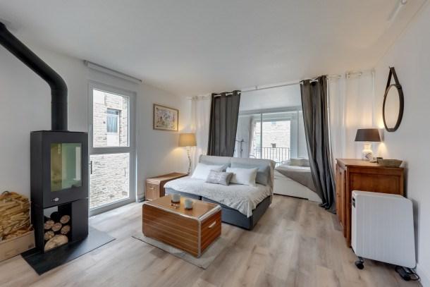 Location vacances Arzon -  Appartement - 4 personnes - Chaîne Hifi - Photo N° 1