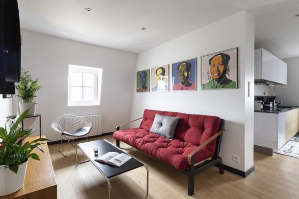 Location vacances Dinard -  Appartement - 4 personnes - Chaîne Hifi - Photo N° 1