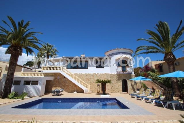House for 4 ppl. with pool, Teulada
