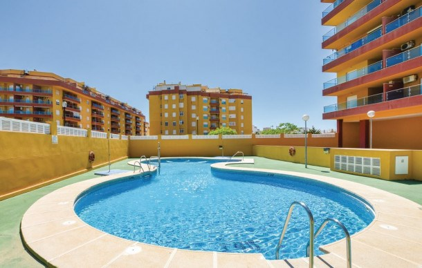 Location vacances Roquetas de Mar -  Appartement - 2 personnes - Jardin - Photo N° 1