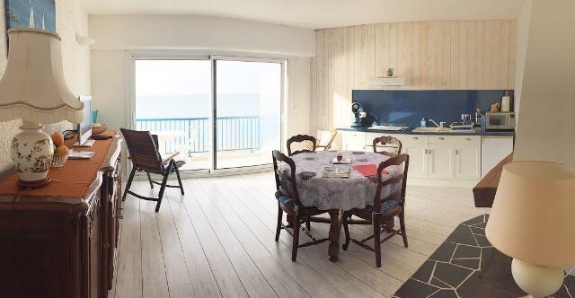 Salon séjour face mer
