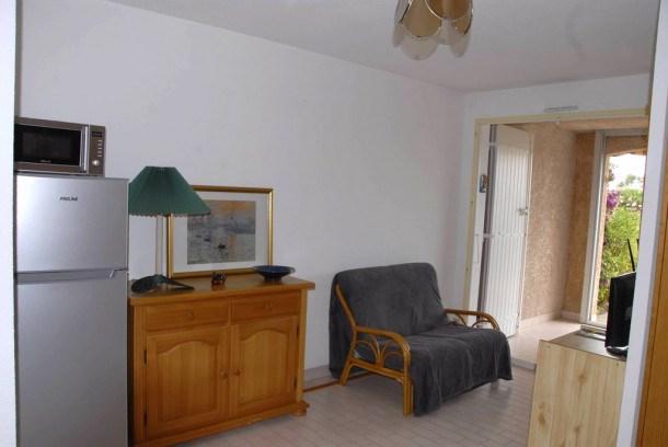 Saint Raphaël Agay studio cabine pour 4 personnes