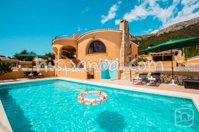 Location de cette belle villa à Calpe avec piscine et wifi |tere