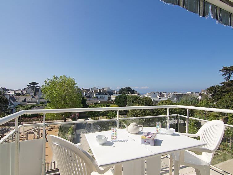Location vacances Quiberon -  Appartement - 4 personnes - Salon de jardin - Photo N° 1