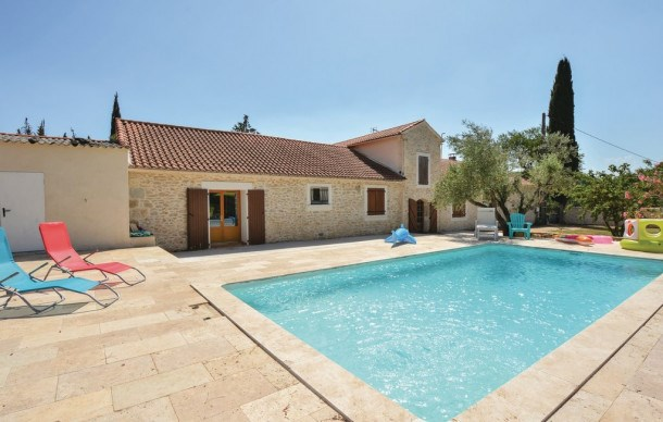 Location vacances Calvisson -  Maison - 6 personnes - Barbecue - Photo N° 1
