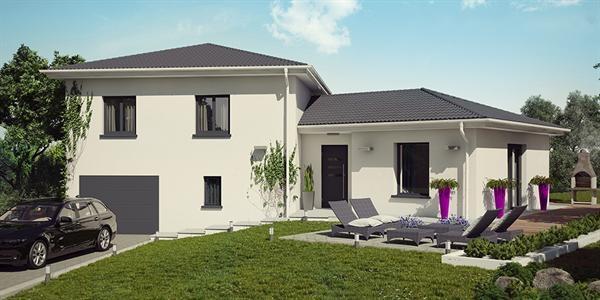 Maison  4 pièces + Terrain 1000 m² St Agnin sur Bion par DEMEURES CALADOISES