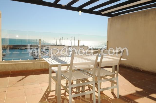 Holiday rentals l'Ametlla de Mar - Apartment - 6 persons - Garden furniture - Photo N° 1