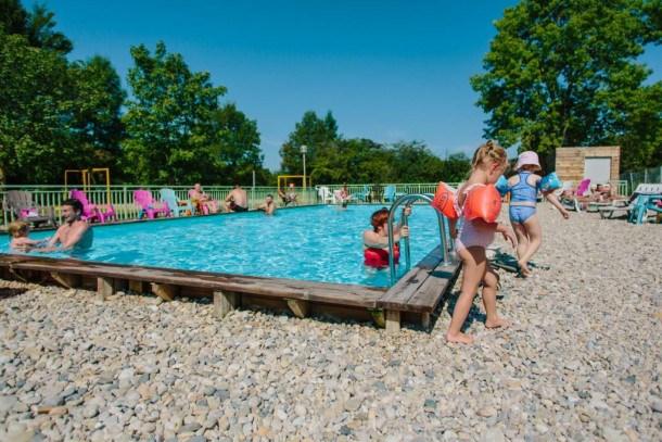 Camping Les Plages de l'Ain - Cottage Premium 3 chambres - 2 Salles de bain - climatisé