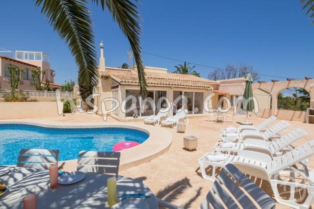 Holiday rentals Calp - House - 6 persons - BBQ - Photo N° 1