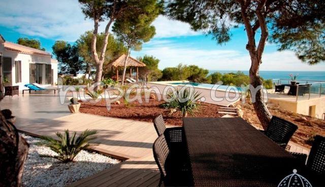 Villa moderne à Altea avec vue mer spectaculaire - villa piscine costa blanca