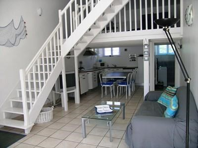 Holiday rentals Étel - Apartment - 4 persons - Television - Photo N° 1