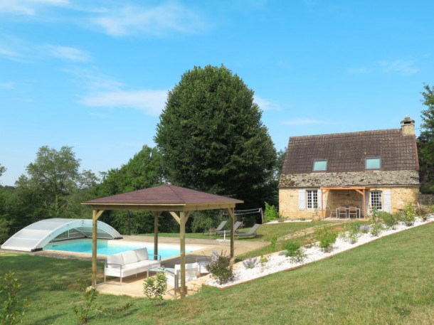 Location vacances La Chapelle-Aubareil -  Maison - 6 personnes - Barbecue - Photo N° 1