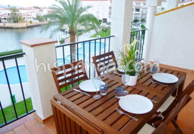 Location vacances Castelló d'Empúries -  Appartement - 6 personnes - Salon de jardin - Photo N° 1
