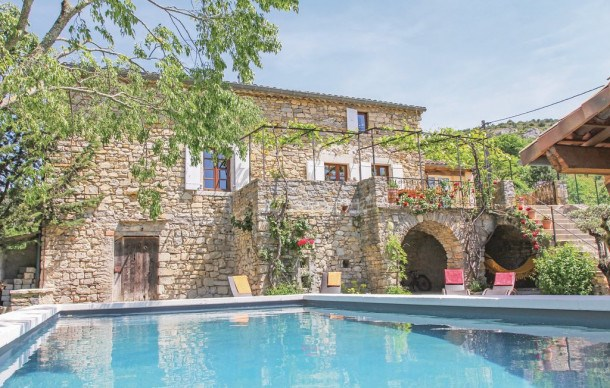 Location vacances Rochecolombe -  Maison - 6 personnes - Barbecue - Photo N° 1