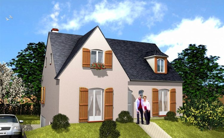 Maison  5 pièces + Terrain 600 m² Sacy-le-Petit par PAVILLONS D'ILE DE FRANCE