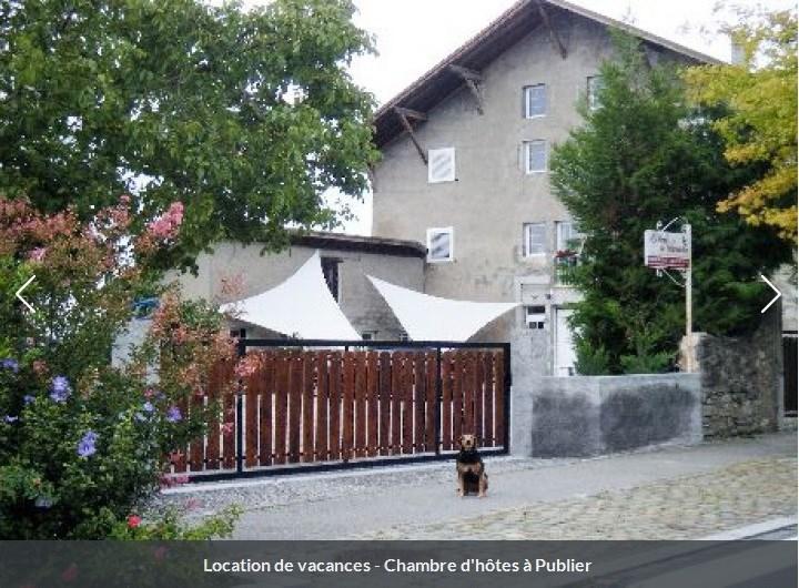 Location vacances Publier -  Gite - 14 personnes - Barbecue - Photo N° 1