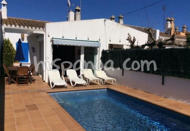 Villa avec piscine sur l'Escala en location proche mer|vila nera
