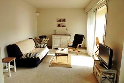 Résidence Le Garden, appartement 3 pièces de 56 m² environ pour 6 personnes situé à 100 m de la mer et des commerces.