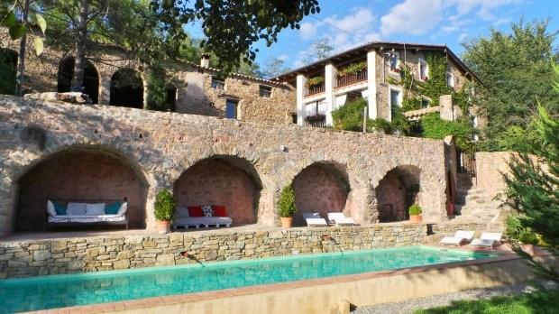 Location vacances Sant Joan de les Abadesses -  Gite - 10 personnes - Barbecue - Photo N° 1