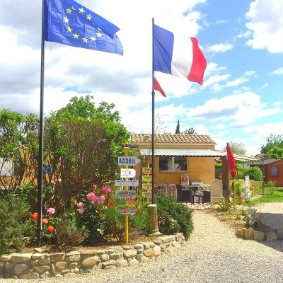 Camping l'Olivier - Mobilhome