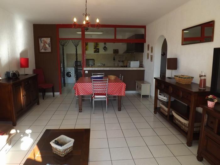 Appartement dans villa pour 5 personne(s)