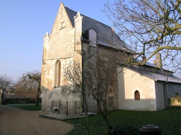 Chapelle gothique aménagée 15ème siècle - Saint-Martin-de-Sanzay