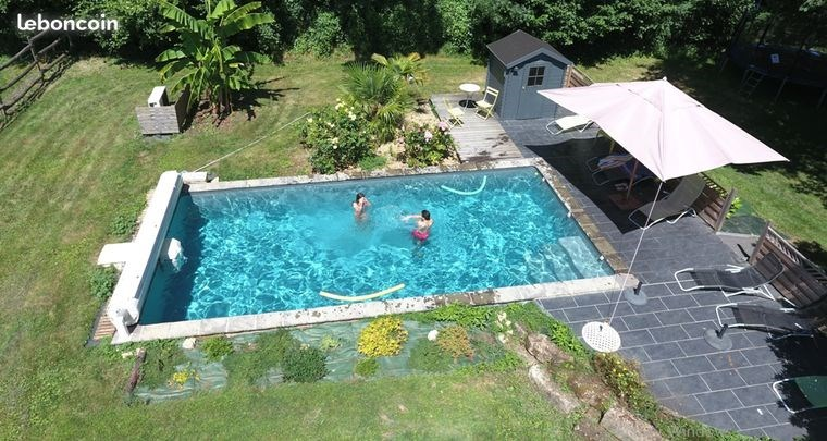 La Cabasse - gîte 4 **** - 7 personnes + 2  bébés - piscine chauffée sécurisée - Vitré