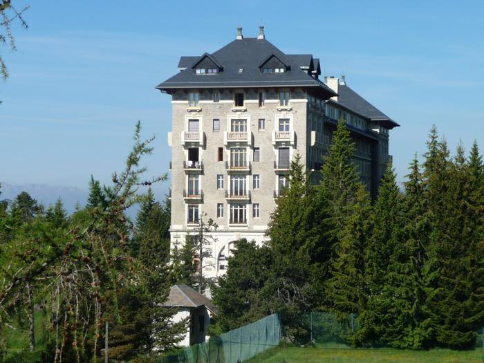 Le Grand Hotel , vue sur l'appartement