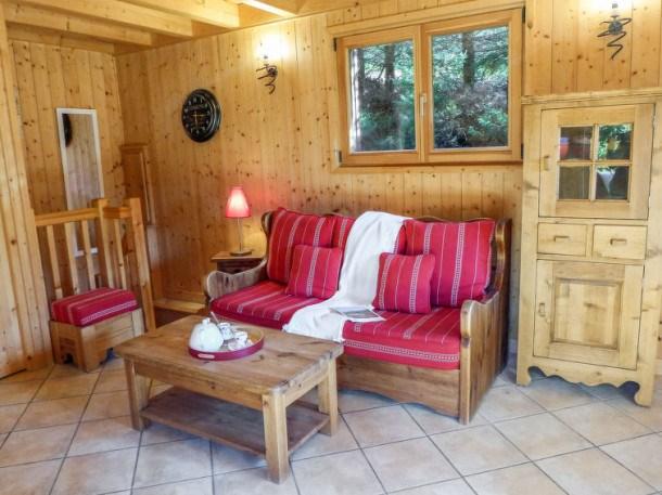 Location vacances Chamonix-Mont-Blanc -  Maison - 6 personnes - Télévision - Photo N° 1