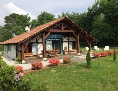 Location vacances Luxey -  Maison - 4 personnes - Barbecue - Photo N° 1