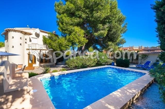 Location vacances Jávea/Xàbia -  Maison - 4 personnes - Barbecue - Photo N° 1