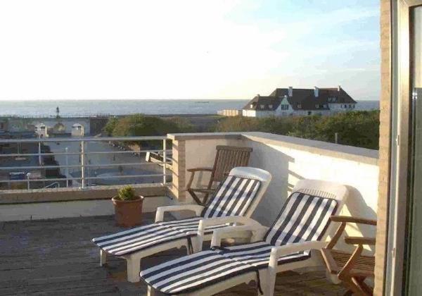 Location dupl penthouse - vue mer