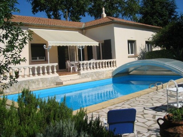 Villa avec piscine à Murviel Les Beziers - Aux abords du village de Murviel-les-Béziers, vous trouverez cette confort...