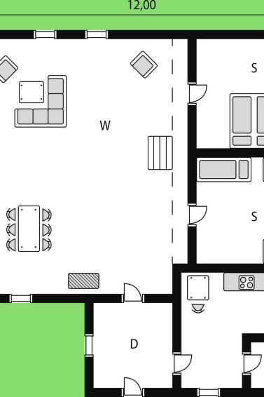 Maison pour 5 à Reksteren