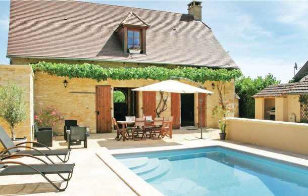 Location vacances Saint-Amand-de-Coly -  Maison - 4 personnes - Barbecue - Photo N° 1