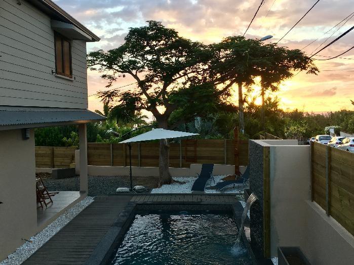 Villa KAZ FLAMBOYANT avec piscine à 250 m du lagon La Saline-Les-Bains