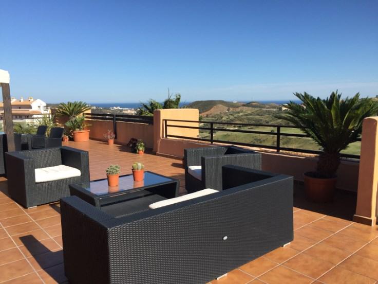 Magnifique penthouse 3 ch. vue mer/montagne terrasse 150 m2