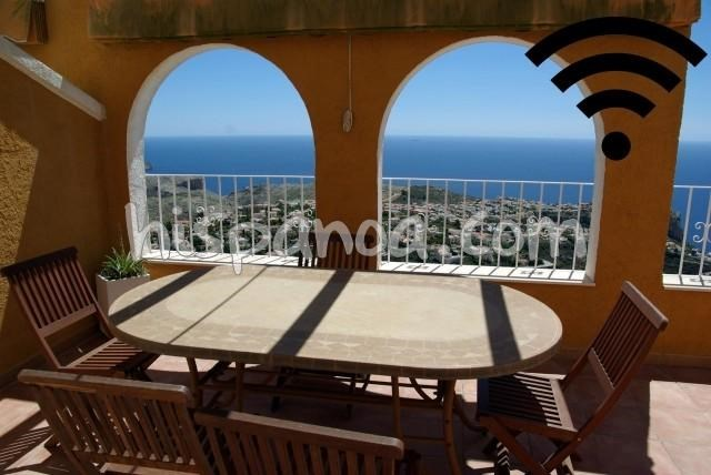 Location vacances Benitachell/el Poble Nou de Benitatxell -  Appartement - 6 personnes - Salon de jardin - Photo N° 1