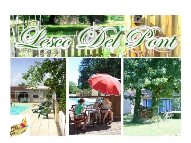 village de gites Lesco Del Pont - Trémolat