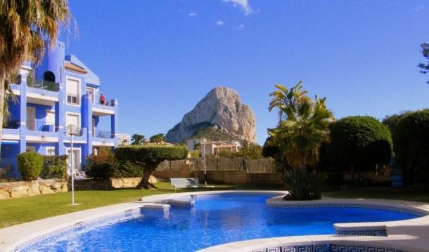 Location vacances Calp -  Appartement - 4 personnes - Jardin - Photo N° 1
