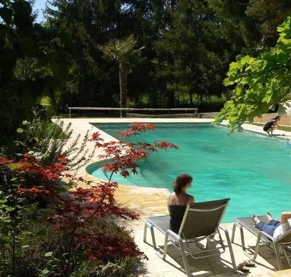 Location d'une villa de charme avec piscine privée à Figeac - Lot - Midi-Pyrénées