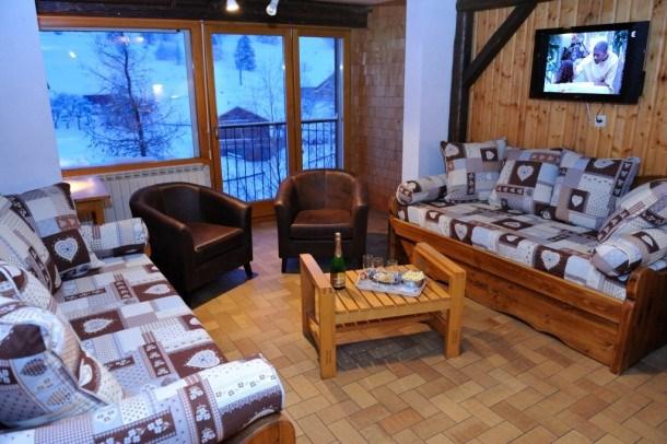 Appartement de 52m² très calme lumineux vue montagne avec wifi à La Bresse