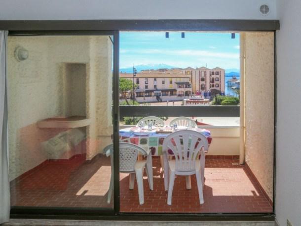 Location vacances Le Barcarès -  Appartement - 4 personnes - Balcon - Photo N° 1