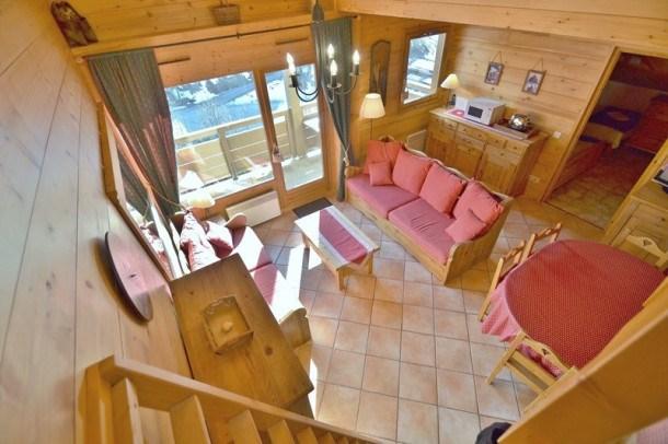 Appartement 6-8 personnes, 2 chambres + mezzanine, centre ville, face aux pistes avec wifi!