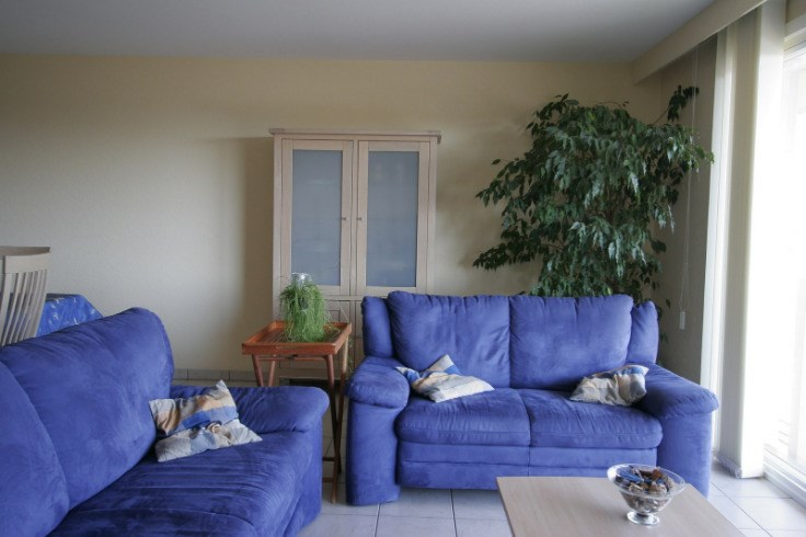 Appartement met twee slaapkamers + slaaphoek