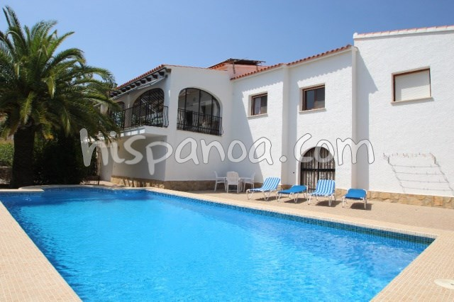 House for 4 ppl. with pool, Calp