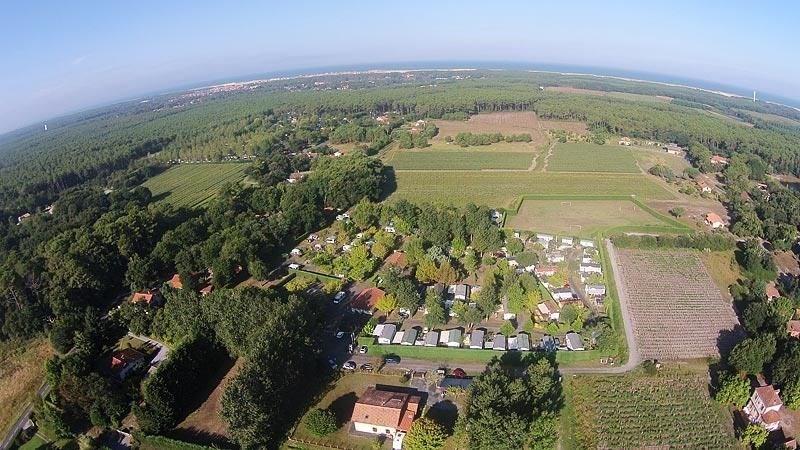 Camping Les Acacias, 125 emplacements, 17 locatifs