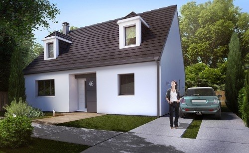Maison  5 pièces + Terrain 728 m² Milly-la-Forêt par MAISONS.COM