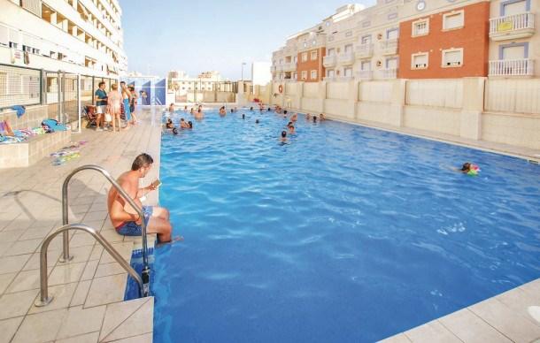 Location vacances Roquetas de Mar -  Appartement - 6 personnes - Lecteur DVD - Photo N° 1