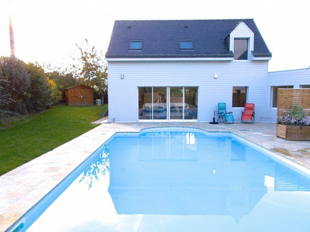 Maison avec piscine, Saint Jacut